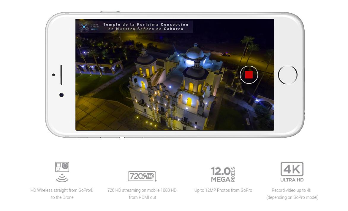 Transmisión en vivo Desde Arriba Drones y Servicios